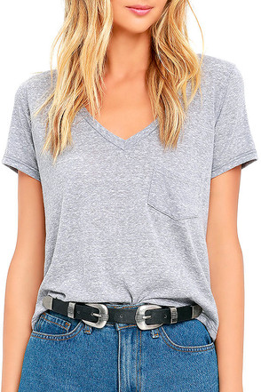 Quick on the Draw Black and Silver Double Buckle Belt at Lulus.com!