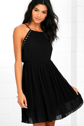 Glamorous Stassi Black Dress at Lulus.com!