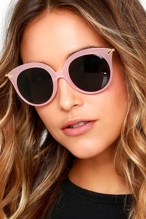 Oh Baby Light Pink Sunglasses at Lulus.com!