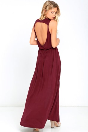 Racing Hearts Black Maxi Dress at Lulus.com!