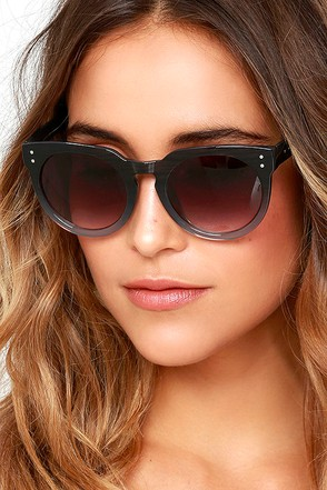 Now I See Burgundy Sunglasses at Lulus.com!