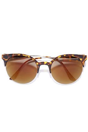 Pip Tortoise Mirrored Sunglasses at Lulus.com!
