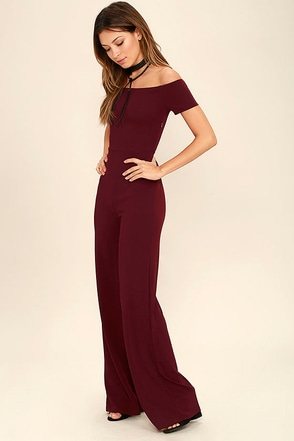Alleyoop Dark Green Off-the-Shoulder Jumpsuit at Lulus.com!