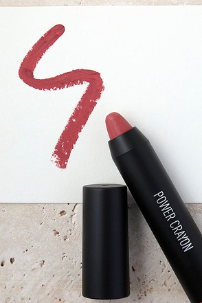 Sigma Power Crayon Signed Sealed Rose Red Lipstick 1