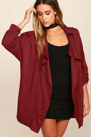 Lucky Break Olive Oversized Jacket at Lulus.com!