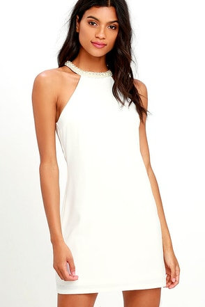 Champagne Dreams Ivory Dress at Lulus.com!