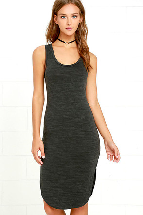 Gentle Fawn Concorde Charcoal Grey Midi Dress at Lulus.com!