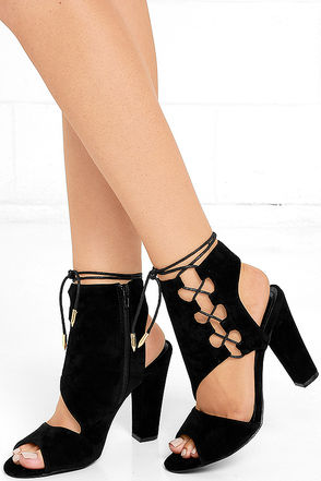Your Destiny Olive Suede Lace-Up Heels at Lulus.com!