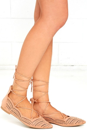 Laced Waltz Black Cutout Lace-Up Flats at Lulus.com!