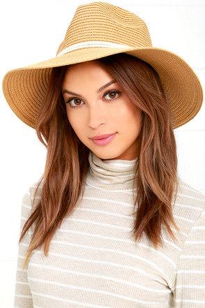 Grazing Land Tan Hat at Lulus.com!