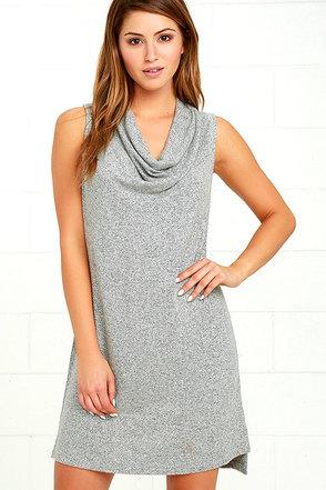 Brooklyn Heather Grey Sleeveless Dress at Lulus.com!