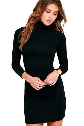 Phenomenal Feeling Grey Long Sleeve Bodycon Dress at Lulus.com!