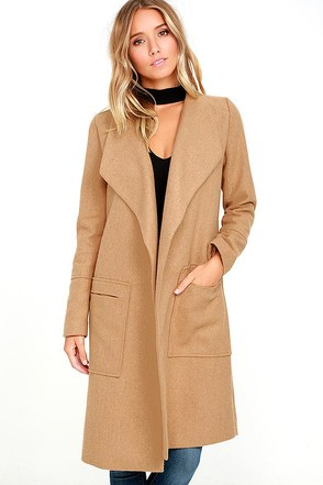 Travel the Globe Burgundy Coat at Lulus.com!