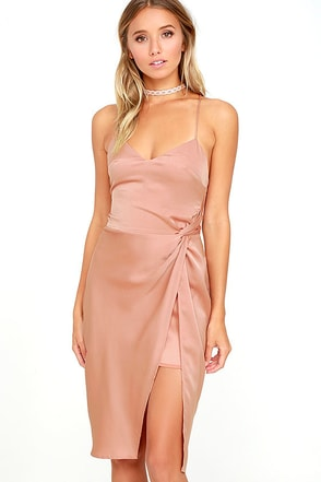 NBD Georgia Blush Dress at Lulus.com!