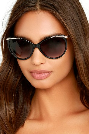 Berkeley Gold and Taupe Sunglasses at Lulus.com!