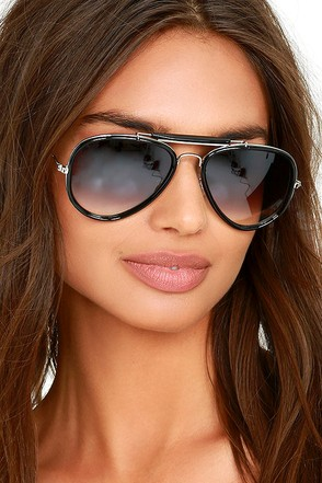 Bring on the Sun White Sunglasses at Lulus.com!