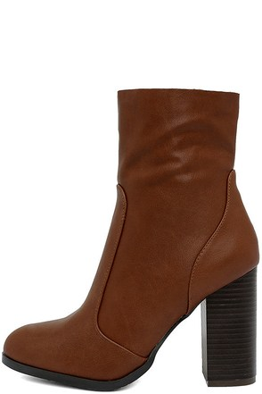 So In Black Mid-Calf High Heel Boots at Lulus.com!