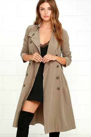 Jack by BB Dakota Wellington Wine Red Trench Coat at Lulus.com!