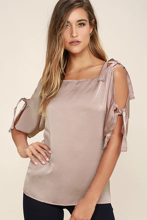 Heavenly Daydream Mauve Top at Lulus.com!