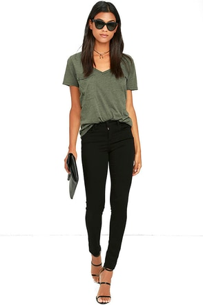 Local Jaunt Black Skinny Jeans at Lulus.com!