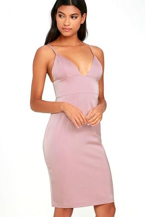 NBD Heatwave Mauve Dress at Lulus.com!