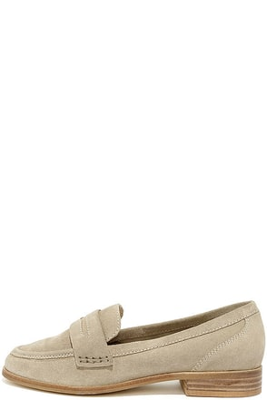 Seychelles Tigers Eye Sand Suede Leather Loafers at Lulus.com!
