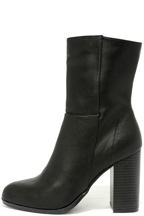 Welcomed Addition Chestnut Suede High Heel Mid-Calf Boots at Lulus.com!