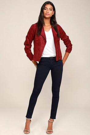 Dittos Selena Dark Wash Skinny Jeans at Lulus.com!