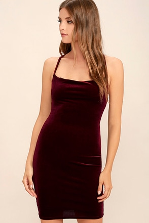 Sultry Summoning Black Velvet Bodycon Dress at Lulus.com!