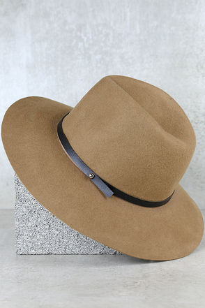 Close to Home Taupe Hat at Lulus.com!