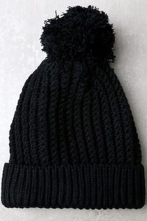 Snow-body's Business Grey Knit Beanie at Lulus.com!
