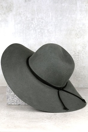 Wild Oats Grey Hat at Lulus.com!