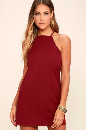 Endlessly Endearing Wine Red Bodycon Dress at Lulus.com!