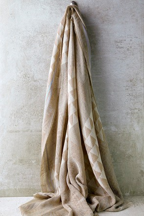 Ski Lodge Beige Print Scarf at Lulus.com!