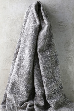 Burlington Grey Scarf at Lulus.com!