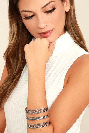 Promise You Gold Cuff Bracelet at Lulus.com!