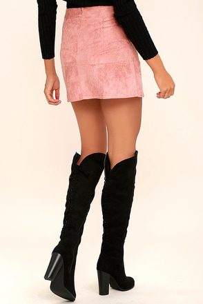Right Here, Right Now Taupe Suede Lace-Up Over the Knee Boots at Lulus.com!