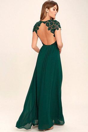The Greatest Navy Blue Lace Maxi Dress at Lulus.com!