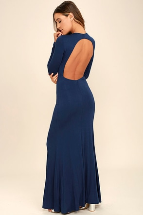 Up and Coming Purple Backless Maxi Dress at Lulus.com!