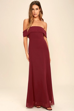 Perfectly Poised Sage Green Off-the-Shoulder Maxi Dress at Lulus.com!
