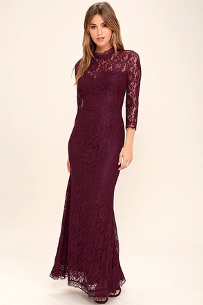 More Than Love Light Grey Lace Maxi Dress at Lulus.com!