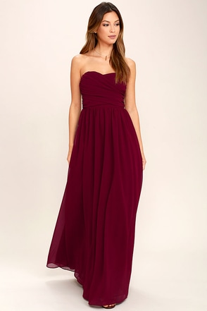 Love and Be Loved Forrest Green Strapless Maxi Dress at Lulus.com!