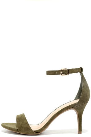 Lover Natural Suede Ankle Strap Heels at Lulus.com!