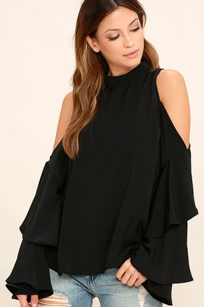 Flow With It Black Top at Lulus.com!
