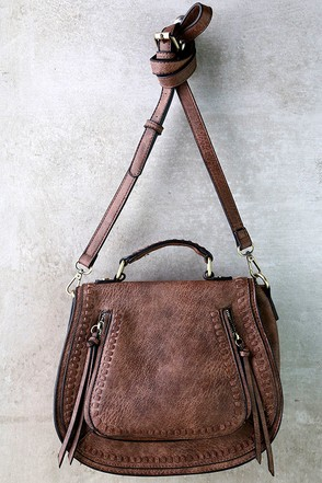Free Roam Brown Purse at Lulus.com!