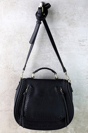 Free Roam Black Purse at Lulus.com!
