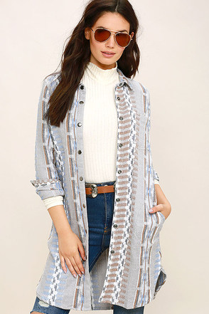 O'Neill Limekiln Light Grey Print Jacket at Lulus.com!