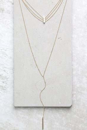 Our Song Gold Layered Choker Necklace at Lulus.com!