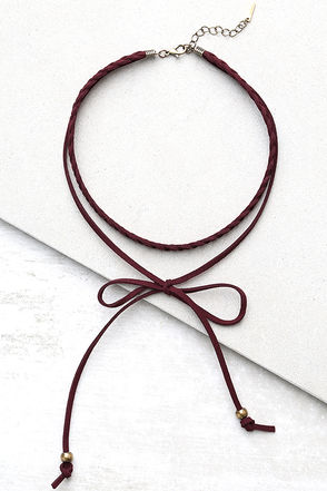 Everyday is a Winding Road Brown Suede Layered Choker Necklace at Lulus.com!