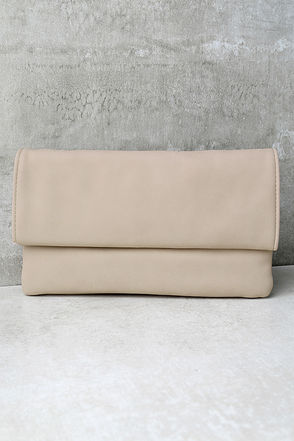 My Love is Your Love Light Blush Clutch at Lulus.com!